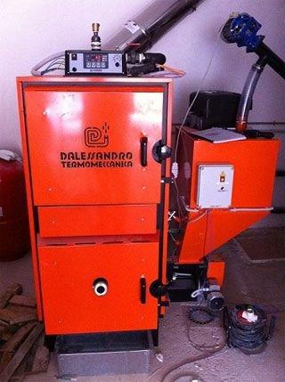 caldera clp 60 de 60 kw de d 39 alessandro termomeccanica satis